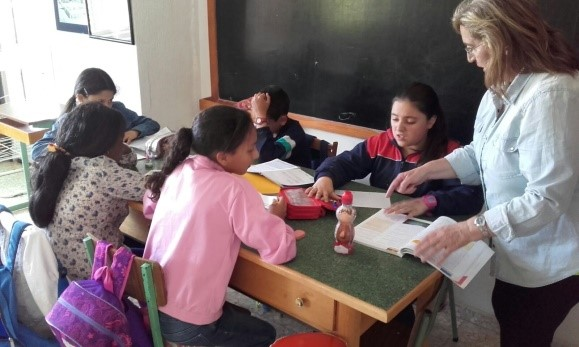 foto de apoyo escolar
